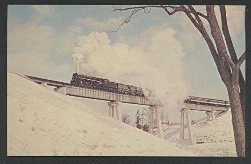 Canadian National Railways Railroad Train Northern Toronto Canada CNR Postcard
