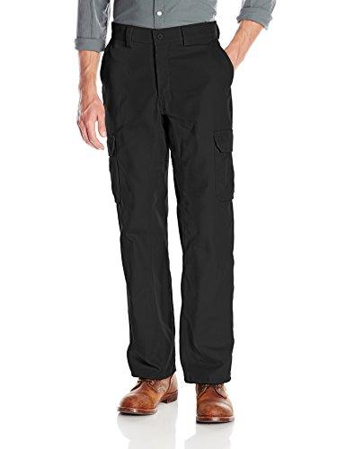 Wrangler Workwear Men's Functional Cargo Work Pant, Black, 3