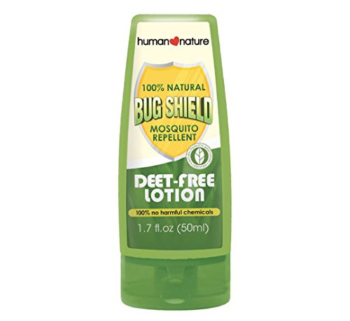 Human Nature BugShield Mosquito Repellent (Deet-Free Lotion)