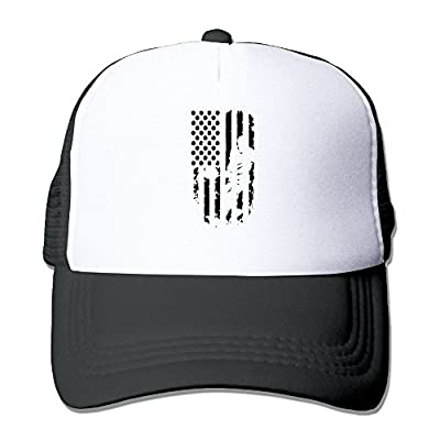 HAT-HAT Pickleball Player American Flag Men Women Adjustable Snapback Hats Trucker Cap | Baseball Caps Mesh Back