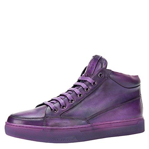 JUMP NEWYORK Men's Strickland Mid-Top Fashion Sneaker Purple 11 D US by JUMP NEWYORK