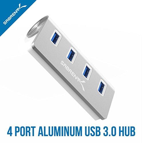Sabrent Premium 4 Port Aluminum Usb 3 0 Hub 30 Quot Cable