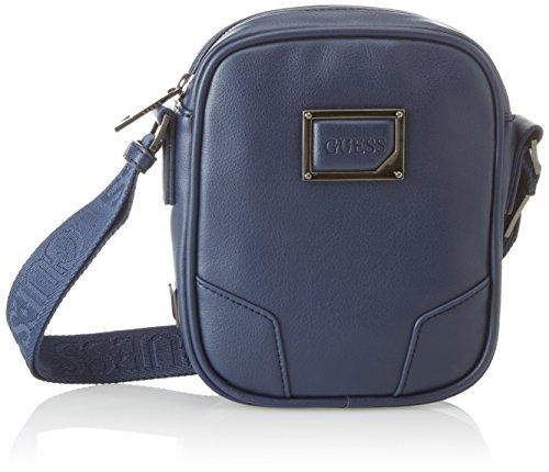 Guess Men's blue Blue Blu Hm6428pol82 Bag Shoulder 68Awvq6