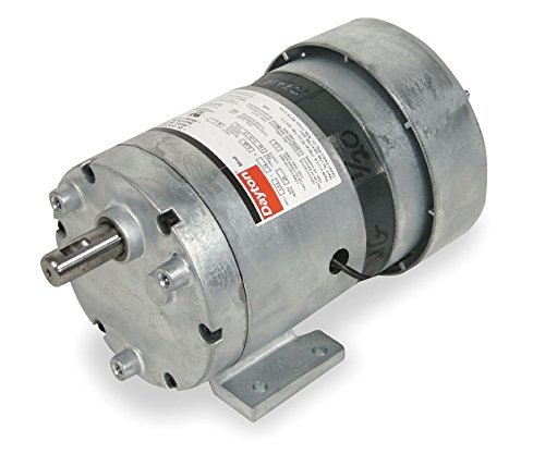 Dayton AC Parallel Shaft PSC Gear Motor 7 RPM, 1/20hp 115 Volts 60HZ. (3M126) Model 1LPN6 by Dayton