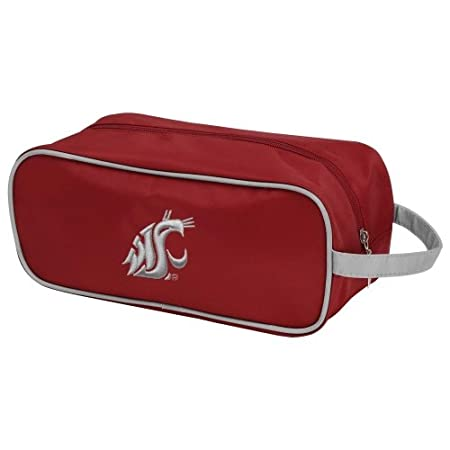 Charm14 NCAA Travel Case- Toiletry Bag with Embroidered Logo USA Margins 510201