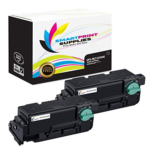 Smart Print Supplies Compatible MLT-D304E Black Extra High Yield Toner Cartridge Replacement for Samsung M4530ND M4530NX Printers (40,000 Pages) - 2 Pack ()