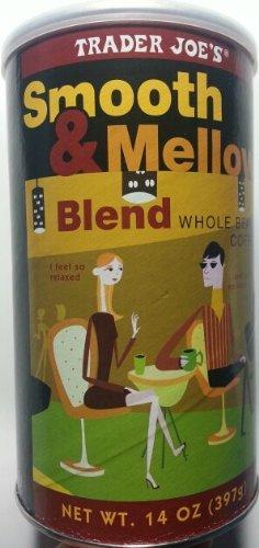 Trader Joe's Smooth & Mellow Blend 100% Arabica Roasted Whole Bean Coffee (14 Oz.)
