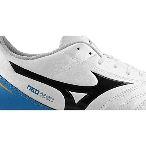 Mizuno - Botas de fútbol para hombre Blanco/Negro/Royal blanco