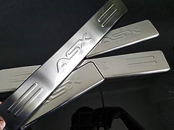 Listones de umbral de puerta de acero inoxidable para ASX Door Sill 2011-2019: Amazon.es: Coche y moto