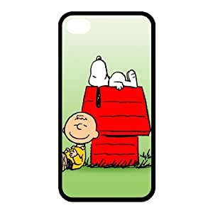 Super Cute Snoopy Back Case Cover For Apple iPhone 4 4S (Silicone Rubber)