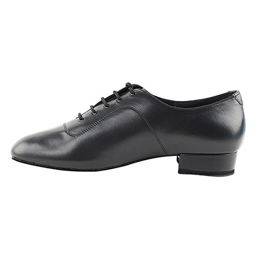 Zapatos Gold Pigeon 50 Shades Of Hombres Standard 1 Zapatos De Vestir Heel Dance Zapatos Collection (ancho Ancho Disponible): Comfort Ballroom, Standard, Smooth, Latin, Salsa, Theather Arte Por Fiesta Party Cd1417 Black Leather