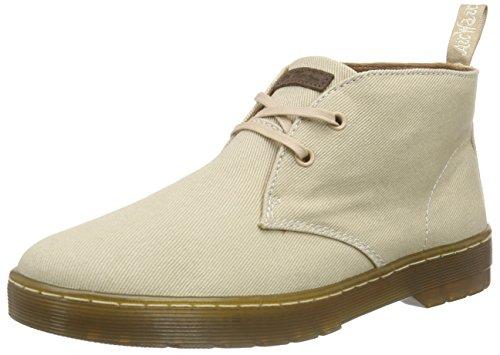 Dr. Martens MAYPORT Twill Canvas Herren Desert Boots Beige (Sand)
