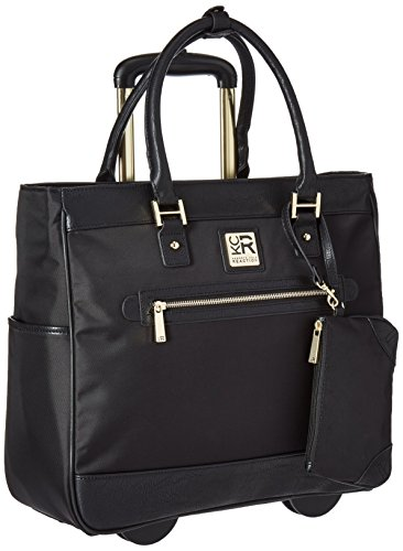Briefcase Womens Rolling (Kenneth Cole Reaction Call It Off, Black, One Size)