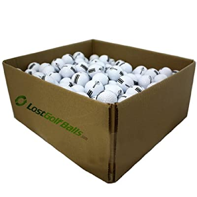 25 Dozen NEW Softcore White/Black Driving Range Golf Balls (1 Case)