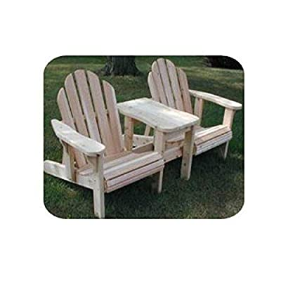 Woodworking Project Paper Plan to Build Twin Adjustable Adirondack Chair from Woodcraft Supply