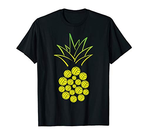 (Pineapple Volleyball Funny T-shirt)