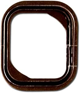 Group Vertical Replacement Home Button Gasket Compatible with Apple iPhone 5S, SE (A1453, A1457, A1518, A1528, A1530, A1533, A1723, A1662, A1724)