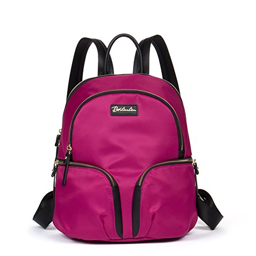 BOSTANTEN Water Resistant Nylon Backpack Purse Casual Daypack