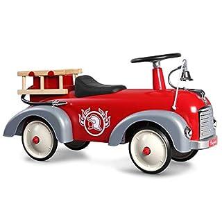 Baghera Speedster Fireman Ride On Car