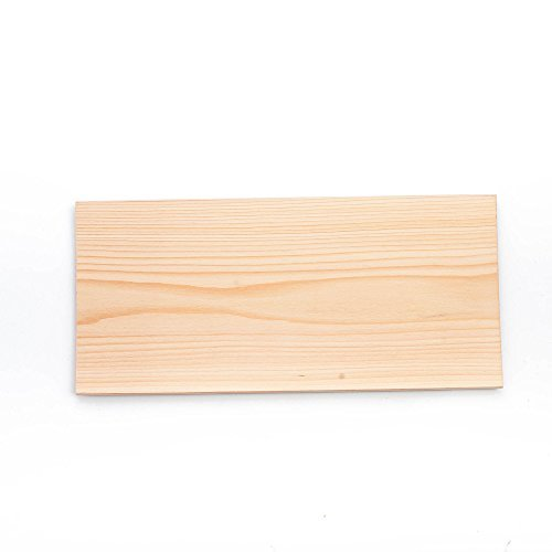 XL Large Cedar Grilling Planks (6 Pack) - 7x15'' - Fits Full Filet of Salmon + Free Recipe eBook
