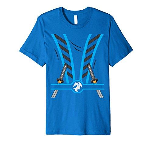 Cute Ninja Costumes Ideas (Mens Ninja Costume - Funny Outfit T-Shirt 2XL Royal Blue)