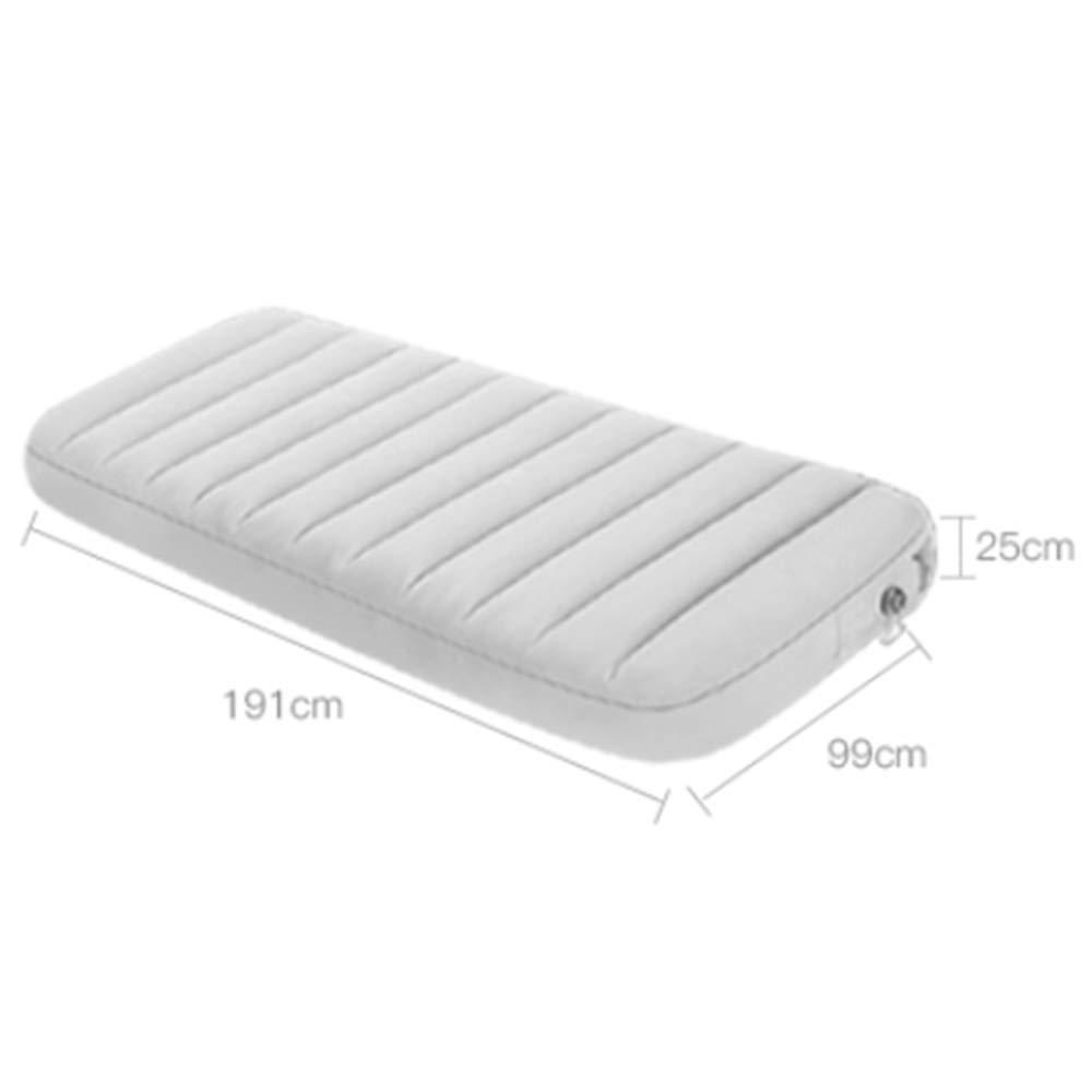 Amazon.com: XULO Colchón hinchable individual doble, colchón ...