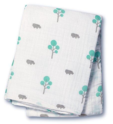 Lulujo Baby Muslin Swaddling Blanket
