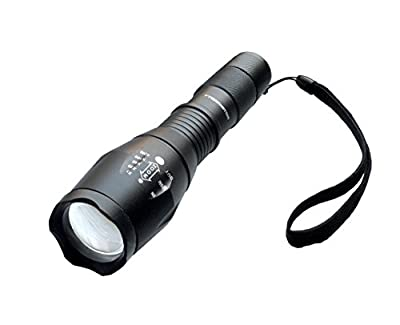 Bell + Howell 1176 Taclight High-Powered Tactical Flashlight with 5 Modes & Zoom Function from Bell + Howell