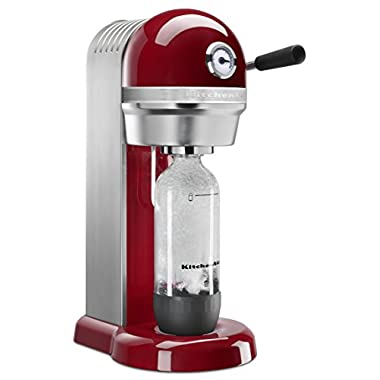 KitchenAid KSS3121ER Sparkling Beverage Maker powered by SodaStream - Empire Red, Empire Red