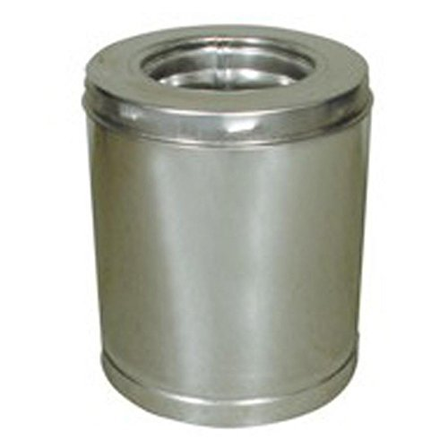 SuperVent 6-in x 12-in Stainless Steel Chimney Pipe