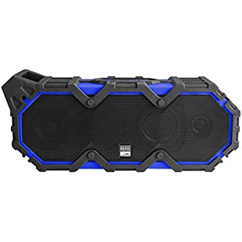Altec Lansing IMW789-CB LifeJacket XL Wireless Waterproof Floatable Bluetooth Speaker with 100 ft Wireless range, 40 Hours of Battery Life, and Stereo Pairing, Cobalt Blue