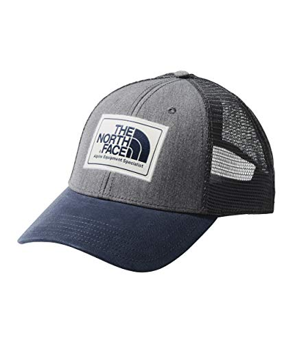 The North Face Unisex Mudder Trucker Hat TNF Medium Grey Heather/Urban Navy One Size