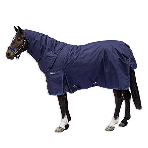 (Horseware Ireland Loveson Turnout 350g Plus, Navy/Navy/Blue, 60