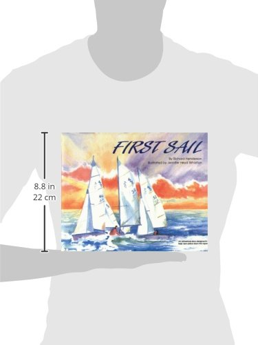 First Sail: An Adventure Story Designed to Help New Sailors Learn the Ropes by Schiffer Publishing (Image #1)