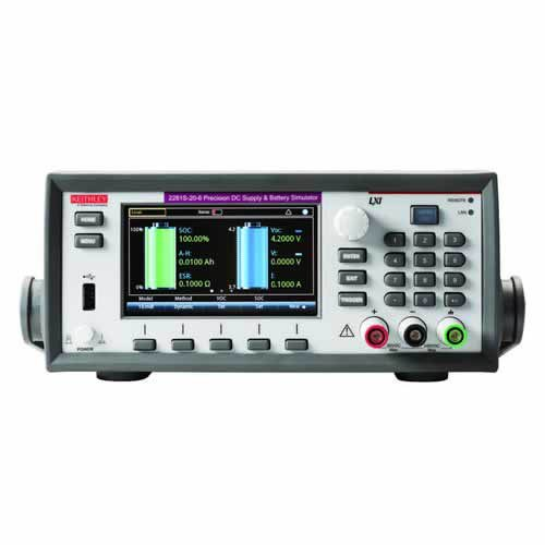 Keithley 2281S-20-6 Precision DC Supply/Battery Simulator with GPIB, USB, & LAN Interfaces, 20V/6A by Keithley Instruments