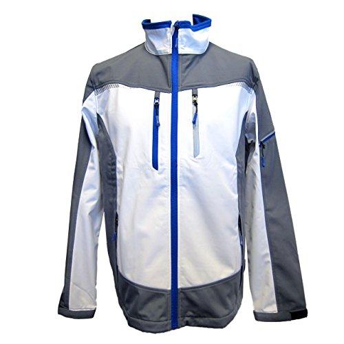 y blanco Terrax Jacket Chaqueta Workwear azul para hombre Softshell x0UCBUnT