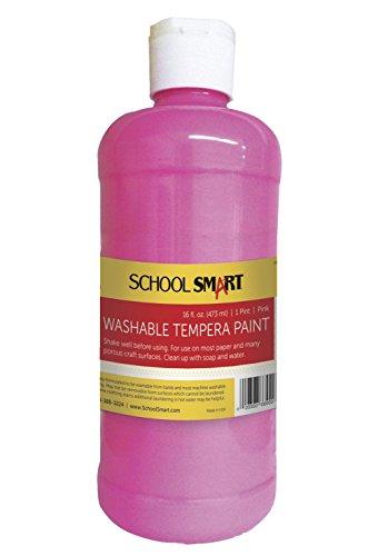 school-smart-washable-tempera-paint-pint-pink