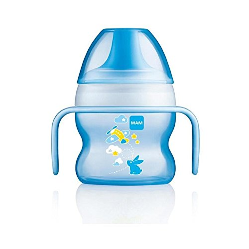 MAM Starter Cup, Blue - Pack of 4