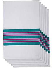 Elivo Baby Receiving Hospital Blankets - Ideal as Swaddle Blankets for Newborns - 100% Cotton Flannel - Breathable and Lightweight Yet Warm and Cosy - Latex Free - Generous Size - Pack of 6