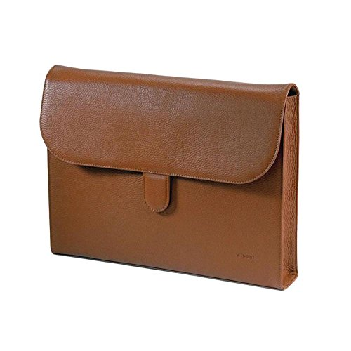 diboni Aktenmappe moccassinbraun, Borsa a tracolla donna Marrone marrone L 37 cm, B 5,5 cm, H 29 cm