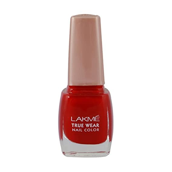 Lakme True Wear Nail Color, Reds & Maroons 404, 9 ml