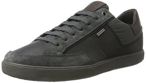 Geox Men's U Taiki B ABX B Low-Top Sneakers, Grey Grey (Anthracite C9004)