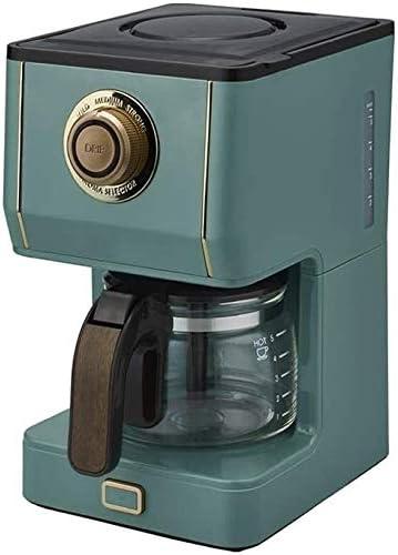 Mini máquina de café Filtro de café de la máquina anti-goteo Diseño desmontable y placa caliente Mantener caliente casero retro eléctrico goteo Cafetera elaboración de la cerveza for la oficina casera: Amazon.es: