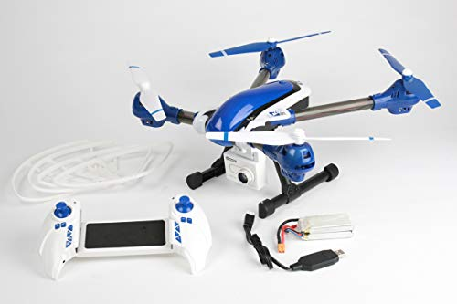 Imager 390 Drone w 720P HD Video Camera, 2.4GHz Radio, 7.4V 2000mAh LiPo Battery + Chargers: 390mm FPV UAV RTF Ready to Fly Quadcopter Multirotor