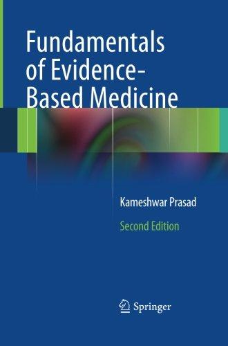 Fundamentals of Evidence Based Medicine