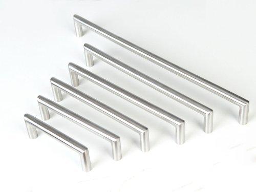 SO-TECH® Möbelgriff Stangengriff E11 echt Edelstahlrohr BA 96 mm
