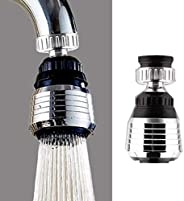 Adaptador de filtro de bocal de torneira giratório 360 graus para economia de água