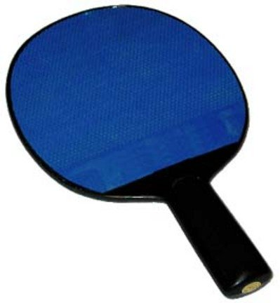 Olympia Sports RA019P Poly Table Tennis Paddle with Rubber Face B0072ZR1E4