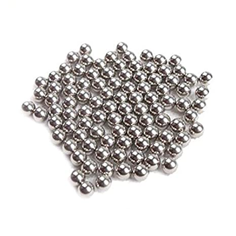 1,5 mm 6 mm FidgetGear Kugellager 100 x DIY Slingshot Ammo Spielzeug Bike Durable 304 Edelstahl Kugellager 1