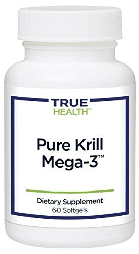 True Health Pure Krill Mega-3 | Omega-3 Protection To Your Heart, Brain & Joints (60 softgels)
